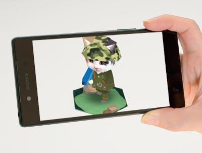 猫のARアプリ
