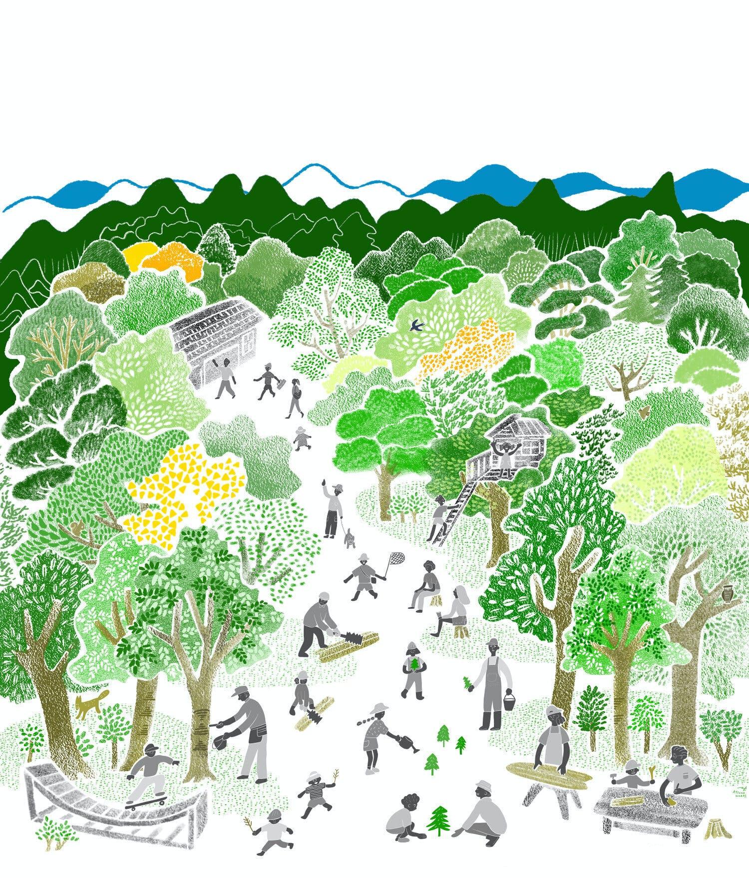 「工藝の森」イメージピクチャ by 森温