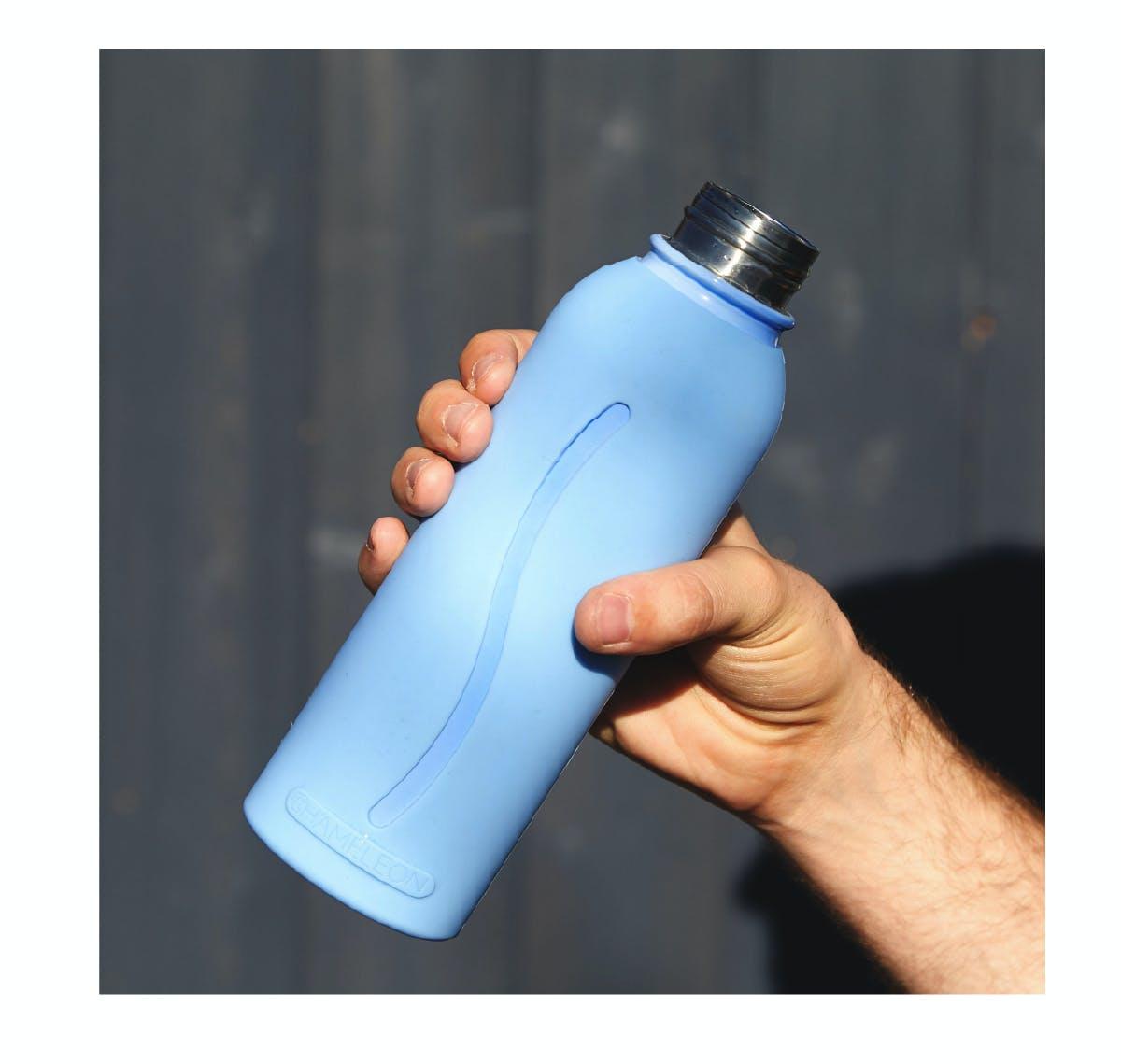 カメレオンボトルは高級ステンレス鋼(SUS304)を使用だからいつでも清潔