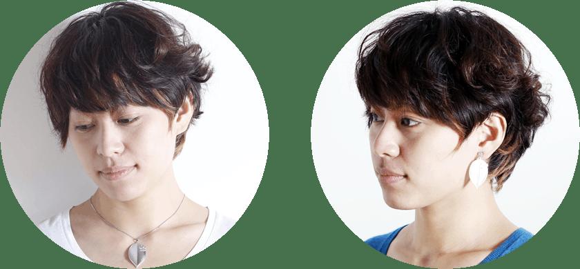 『 [cocur] SAKURA(コクール・桜)』 左:ネックレス 右:イヤリング(ピアスに変更可)