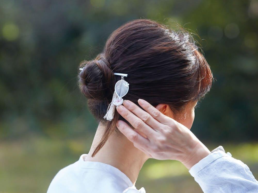 『[cocur] SAKURA(コクール・桜)』  かんざし:しずか着用