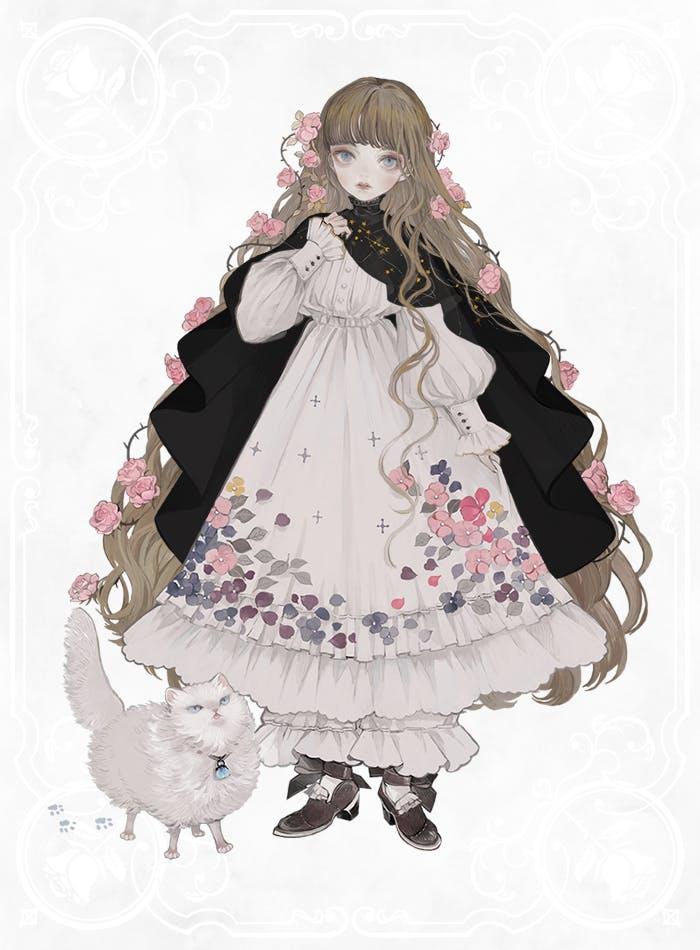 薔薇の魔女メインビジュアル