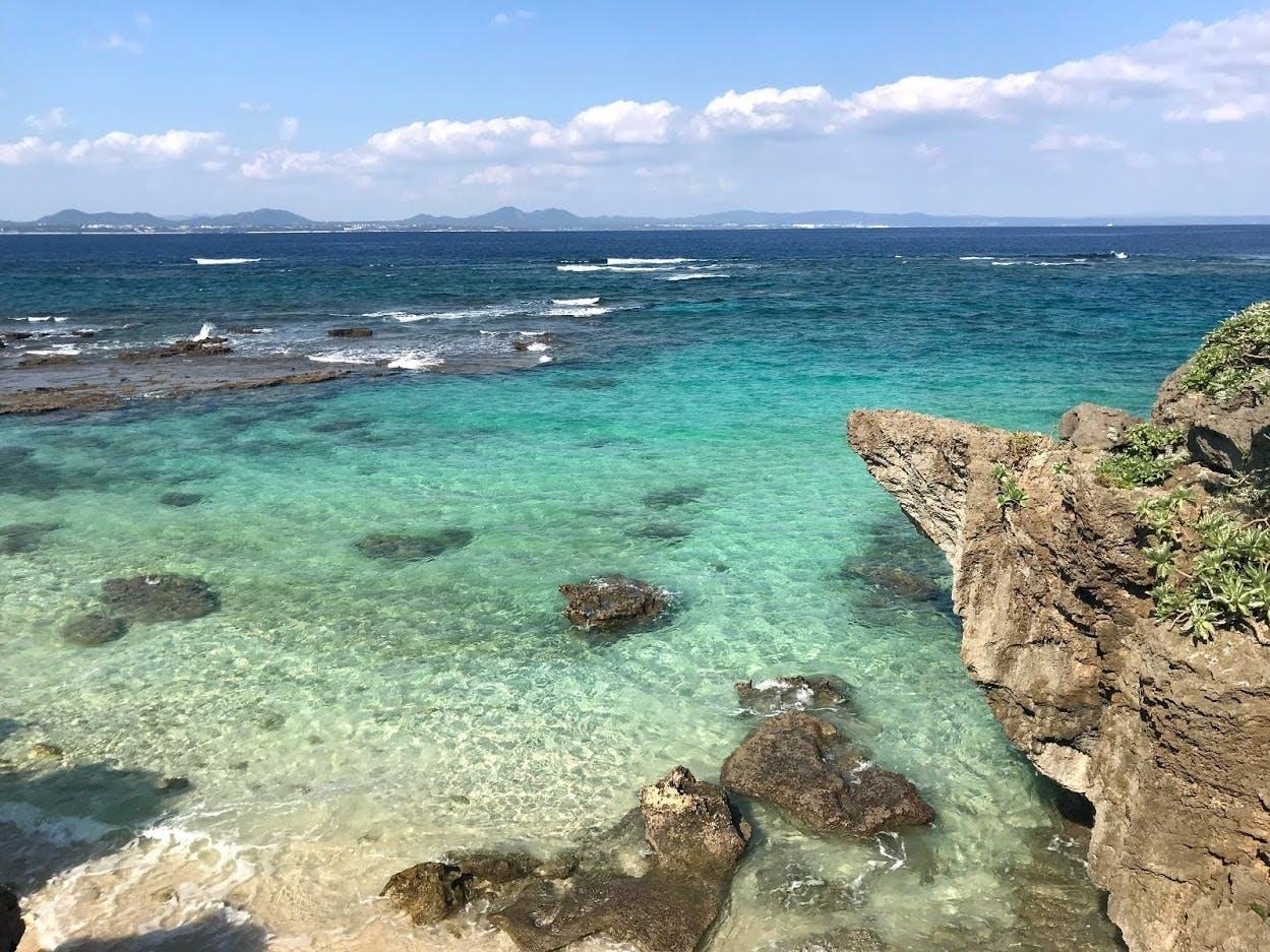 伊計島の綺麗な海