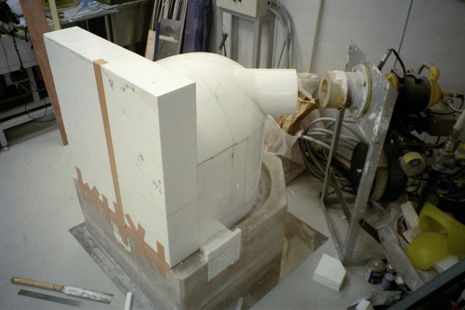 ガラス溶解炉の原型