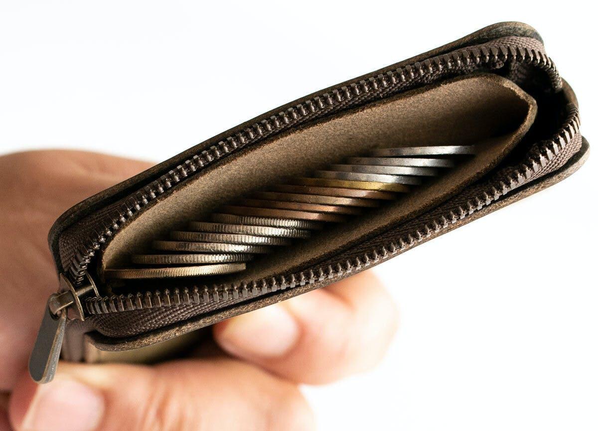 浅いコインポケット