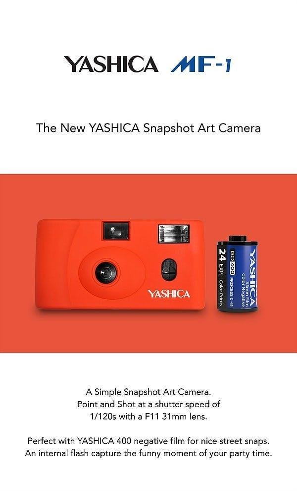 ヤシカ フィルム カメラ