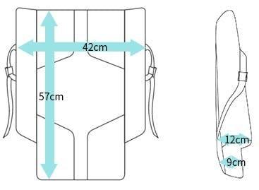 画像:モトリアのサイズ