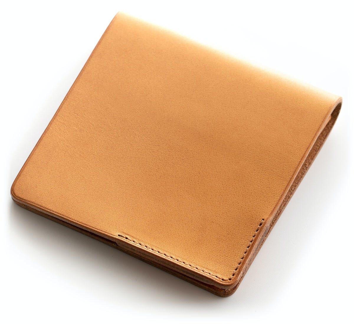 小さな【薄い財布】HITOE Fold Cammello