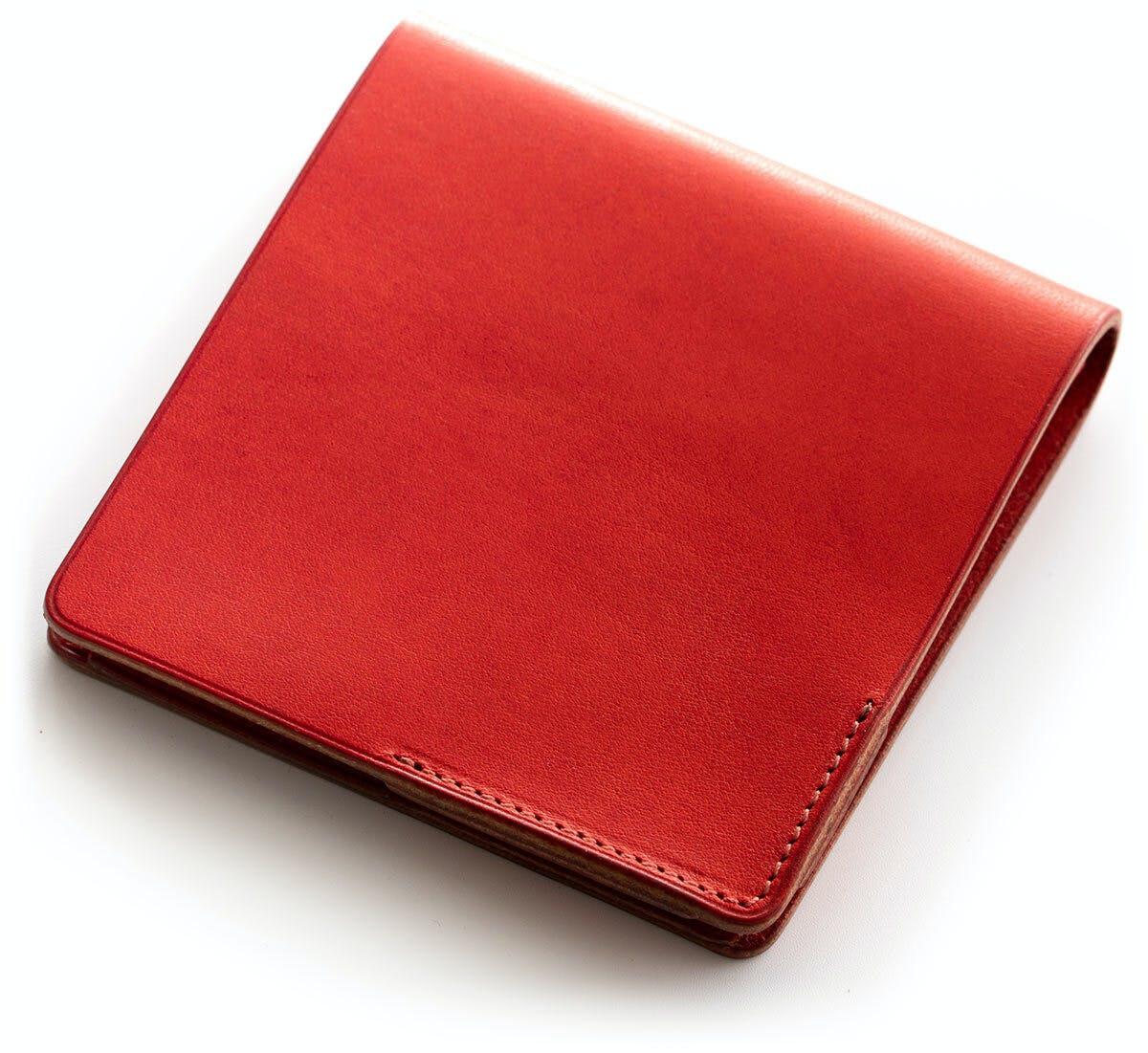小さな【薄い財布】HITOE Fold Fragola
