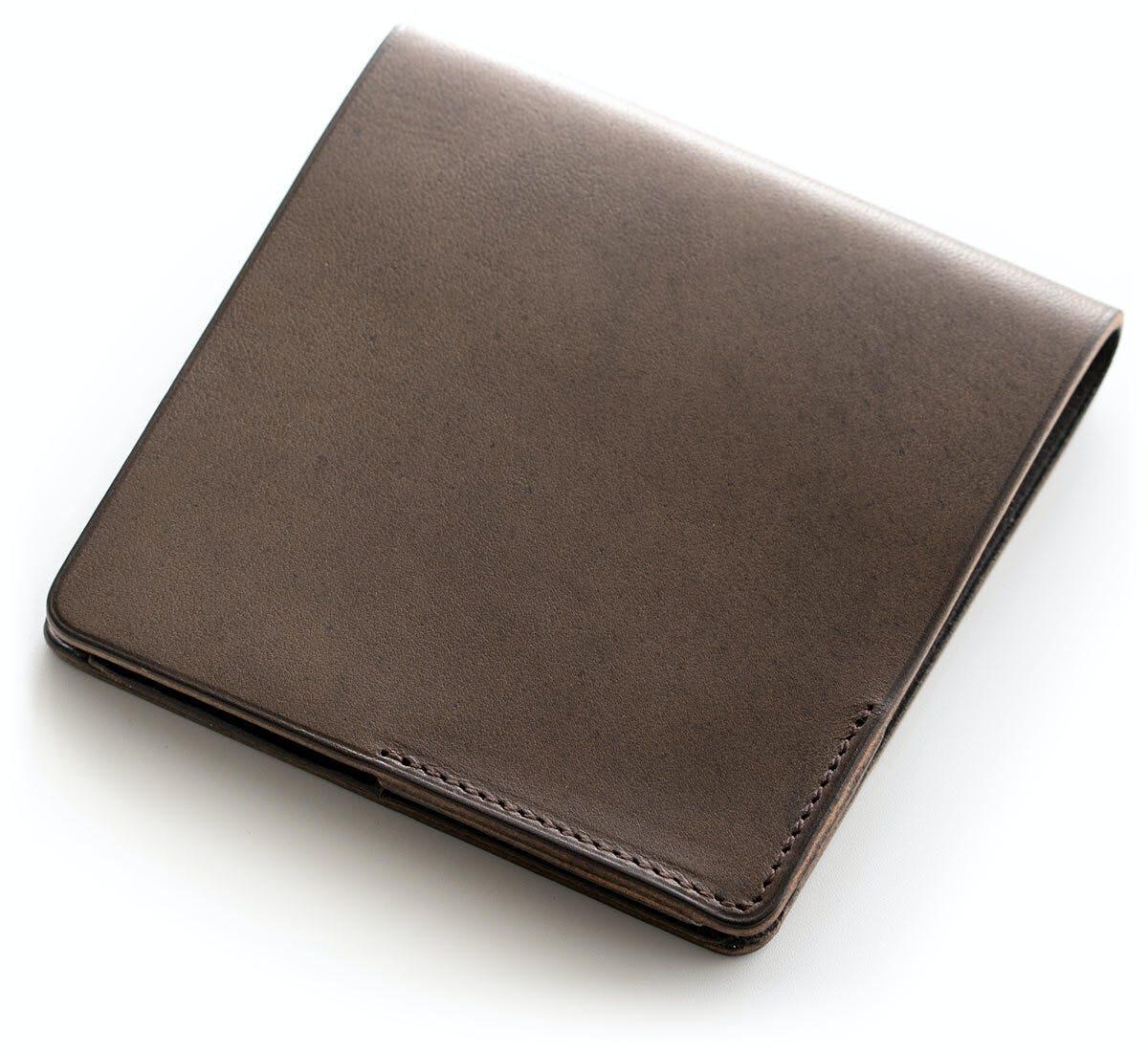 小さな【薄い財布】HITOE Fold Piombo