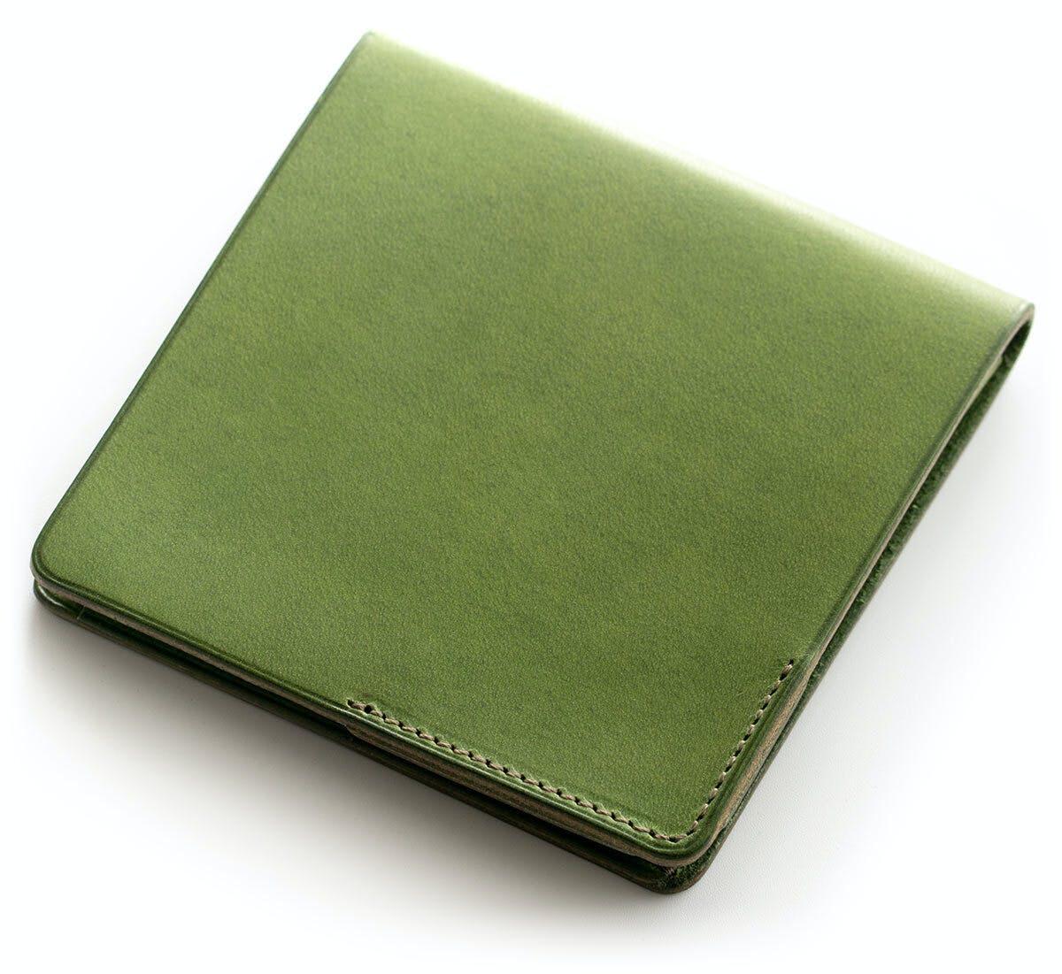 小さな【薄い財布】HITOE Fold Lattuga