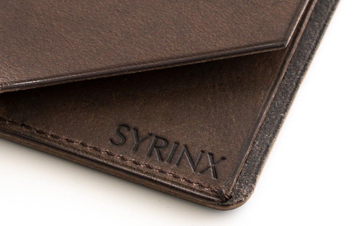 小さな【薄い財布】HITOE Fold の刻印
