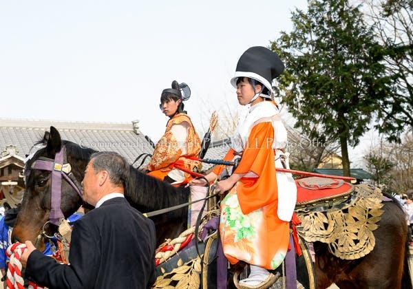 風景写真 パーミルフォトオフィス 林政司 白鬚神社流鏑馬祭