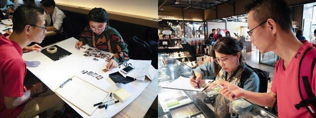 クリエイターの平山靖子氏と台湾で彫金アクセサリーのアイデアだし