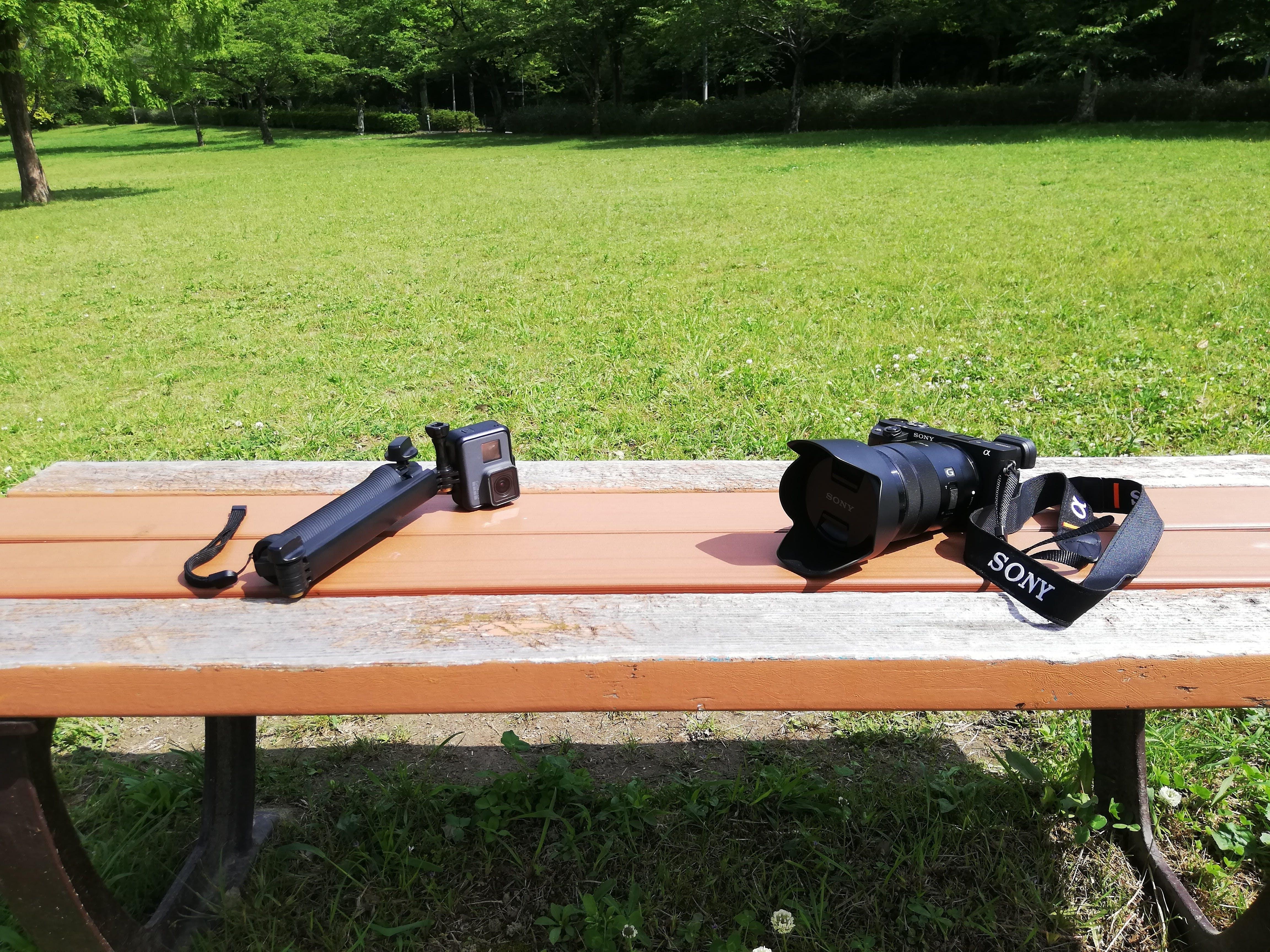 GoProとSONYのカメラが相棒です。