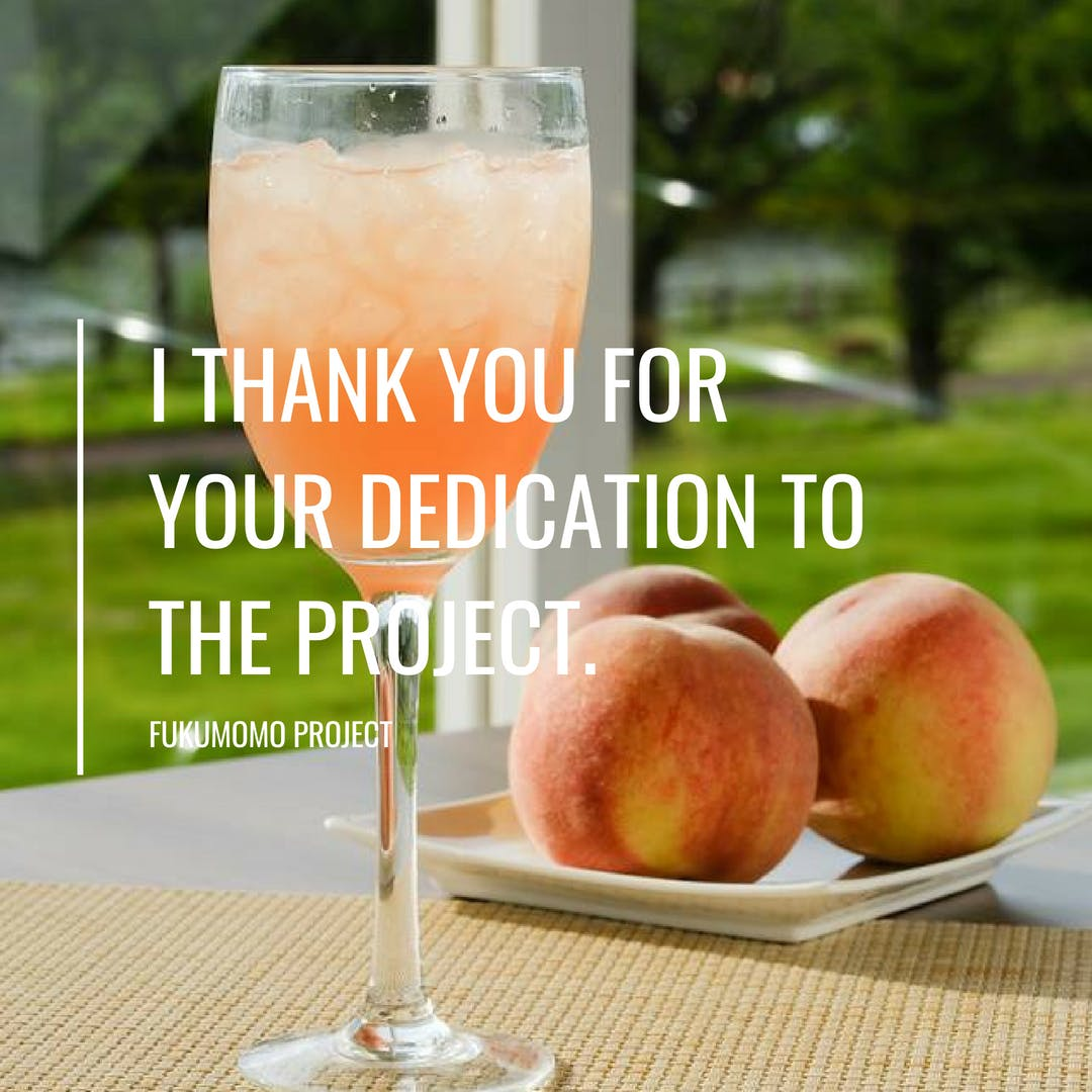 I thank you for your dedication to the project.