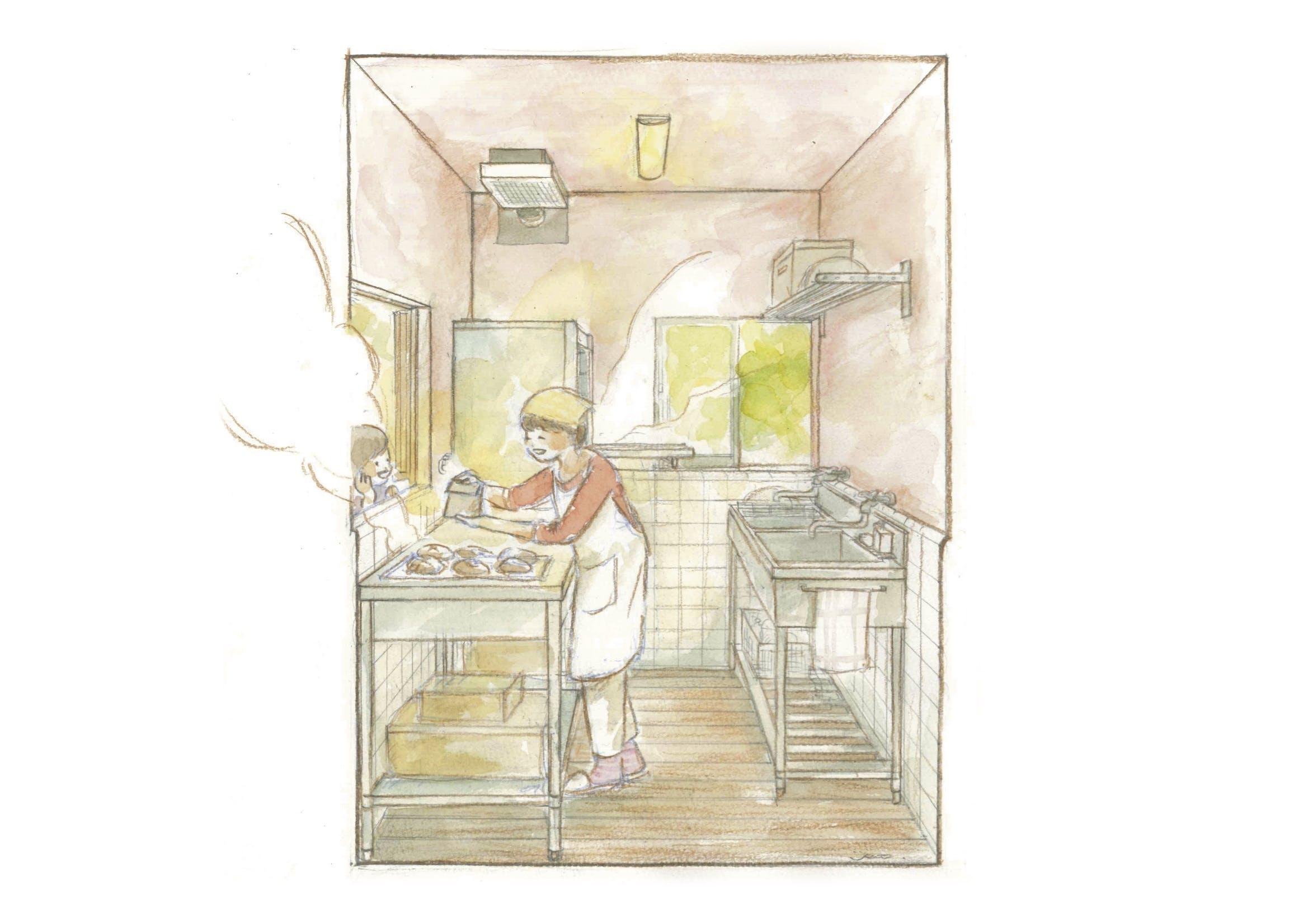 いな暮らしのパン工房 a4 高解像度