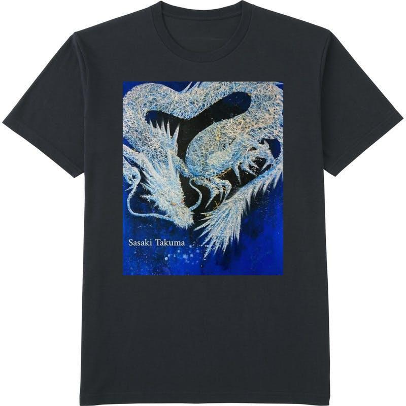龍tシャツ黒