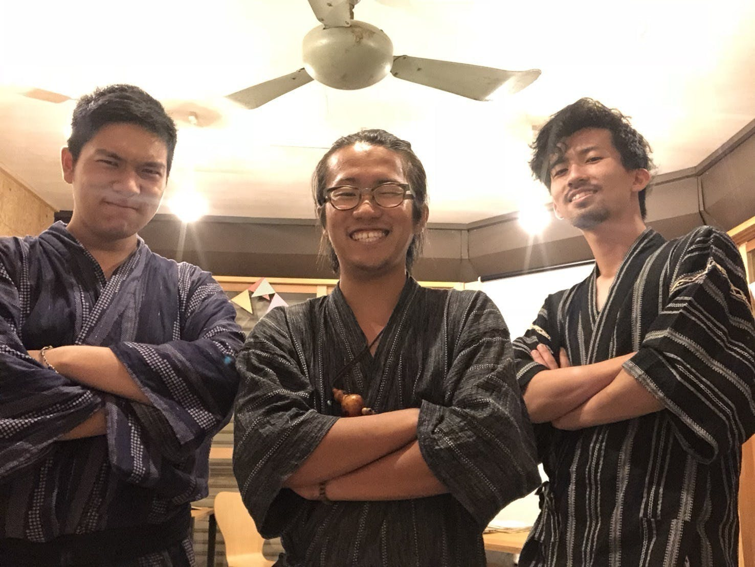 三人の写真