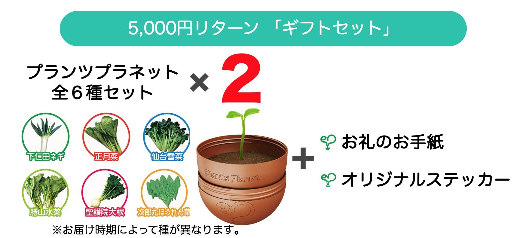5000円リターン