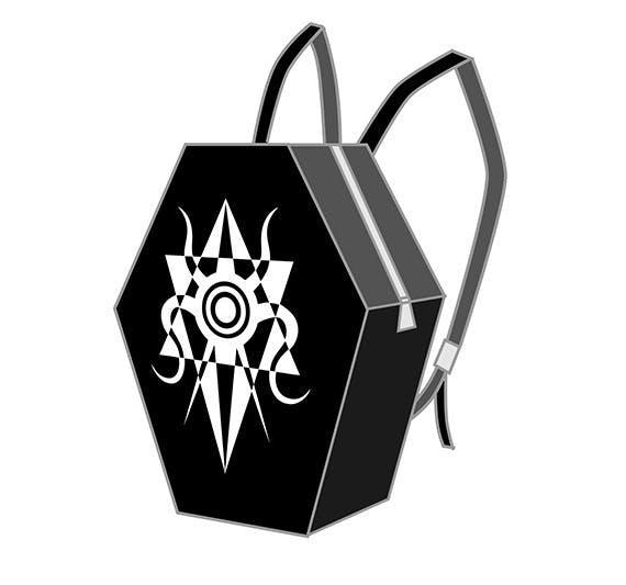 リターン15 ロゴ棺型リュック