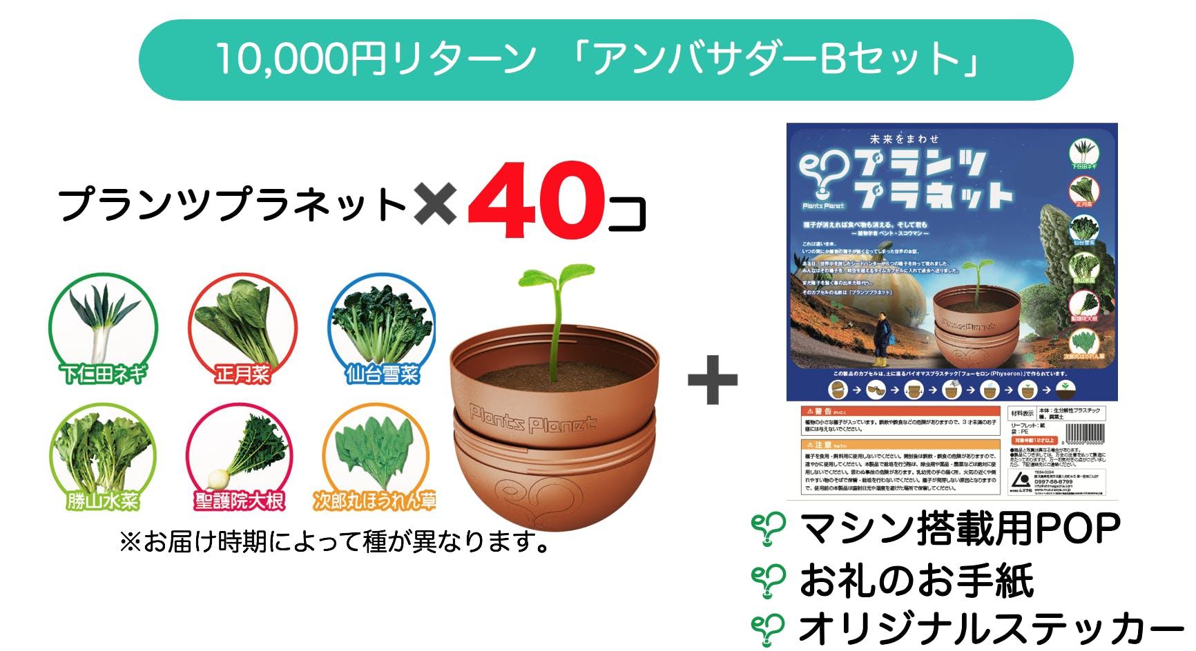 10000円リターン