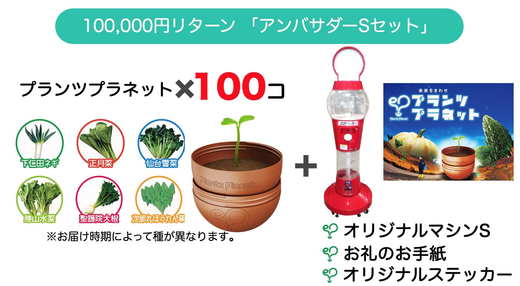 100000円リターン