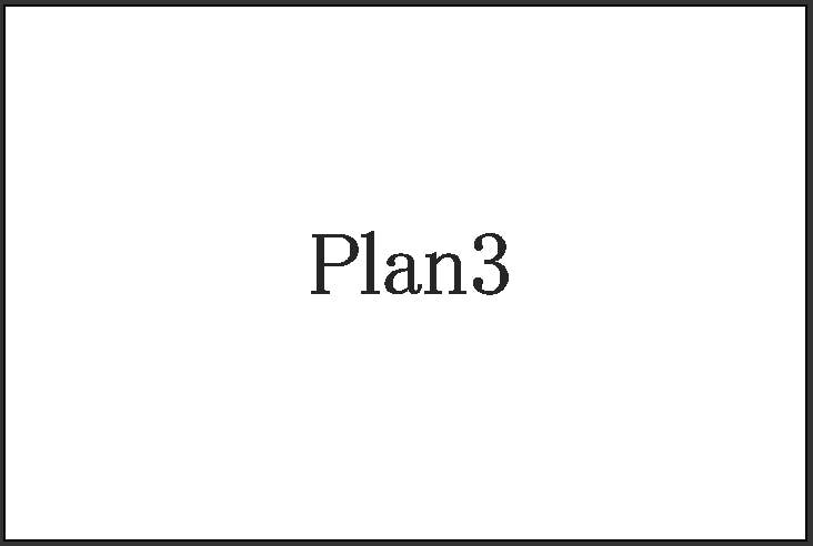 Plan3 msp明朝