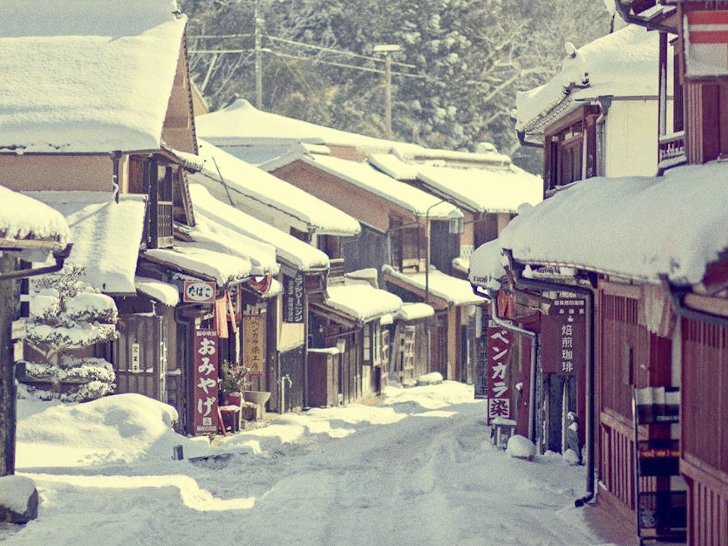 冬の吹屋ふるさと村