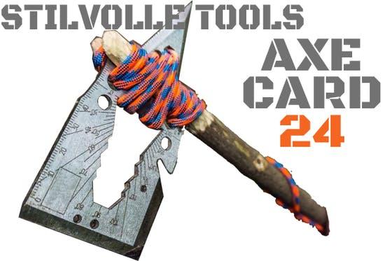 アックスカード24 AXE CARD 24 カード型 24機能搭載マルチツール