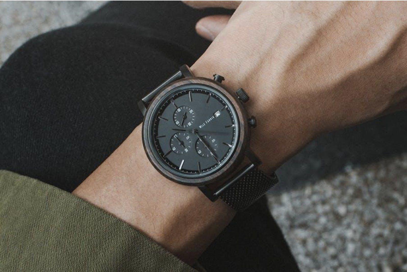 sale retailer ad777 b42fd ドイツ生まれ「Wils Fabrik」が日本上陸!サステナブルな木製時計シリーズ