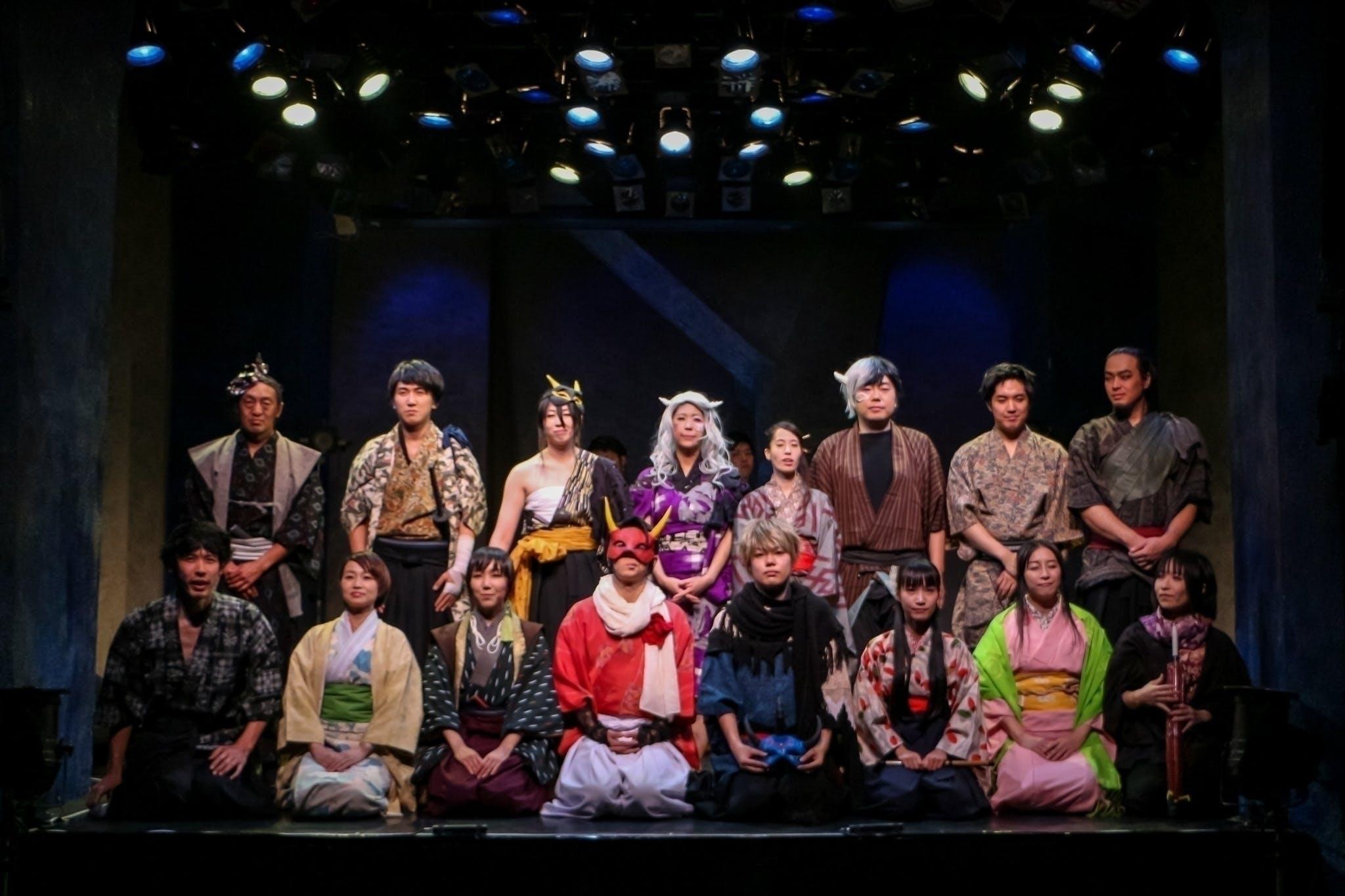 【2020年公演】演劇×殺陣×和太鼓!貴賎老若を超えた舞台作品を皆様に!