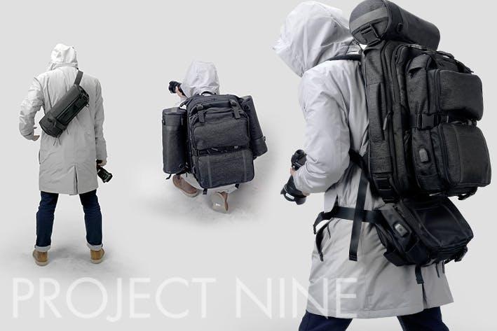3d1b97218f シチュエーションによって形を変えられるバッグ「PROJECT NINE ...