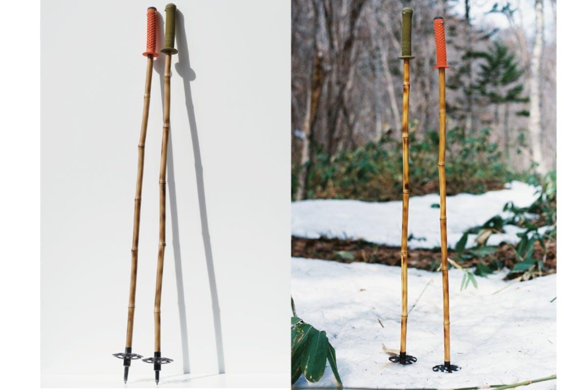 竹を使った地球に優しいスキーポール(ストック)の生産・販売をします ...