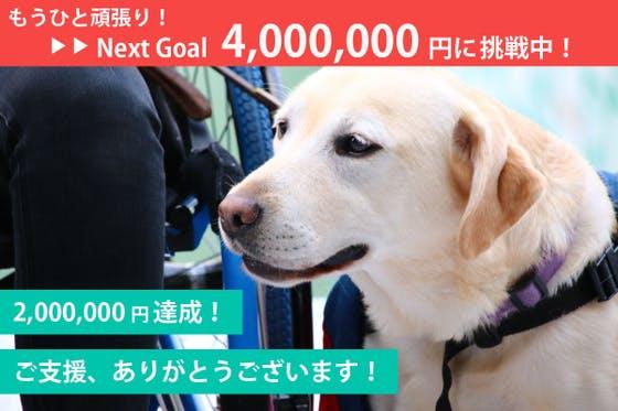 コロナ禍!募金が0円!育成が崖っぷち。湘南から介助犬・聴導犬を届けたい!