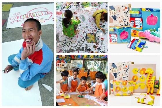 ベトナム|障害ある子供たちの絵を雑貨にして社会と繋げる取り組みを続けたい!