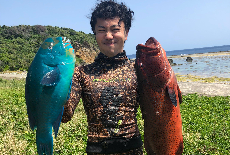 素潜り 漁師 マサル
