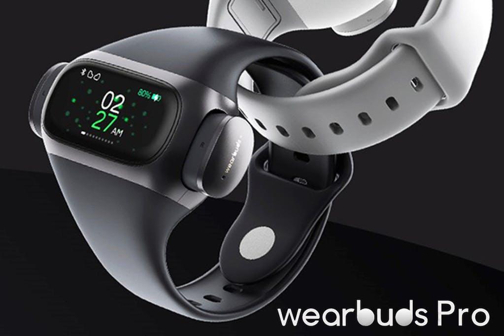 2秒で使用開始!完全ワイヤレスイヤホンとスマートウォッチの融合!wearbuds