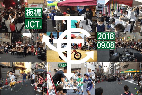 板橋駅前商店街の祭りを発見と挑戦の場に!老若男女楽しめる次世代の祭りを作りたい!