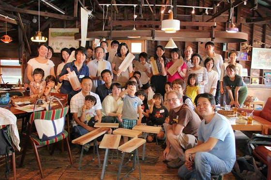 港町神戸の舟工房を継承し六甲山の木でモノづくりができる拠点を作りたい!