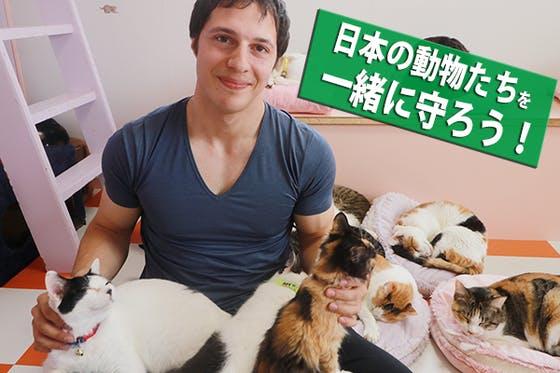 日本の動物たちを一緒に守ろう!ヴィーガン男子のファンクラブ会員募集!