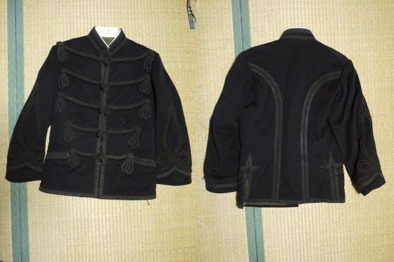 明治時代の陸軍将校服、肋骨服縫製プロジェクト