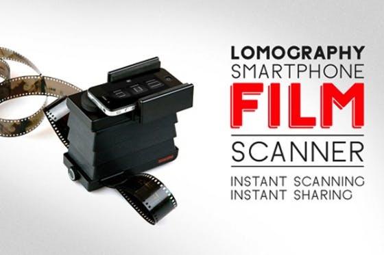 スマートフォンで35mmフィルムをスキャンする新ガジェット