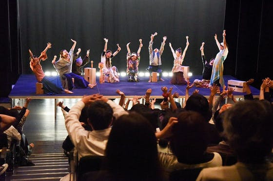 世界9ヶ国から東北へダンサーを招いて夢の舞台を創ります!