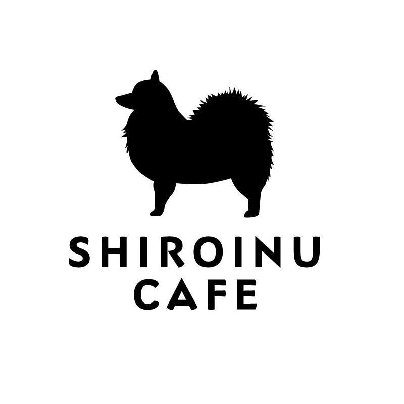 正方形shiroinucafe rogo